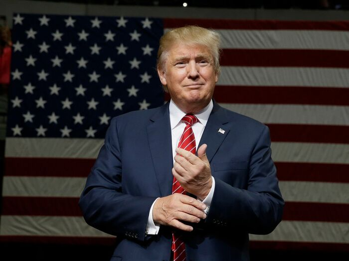Donald Trump is the 45th President of America.jpg