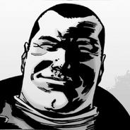 Issue 107 Negan Smirk