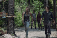 10x01 Michonne and Daryl