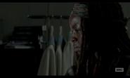 5x02 Michonne Wondering