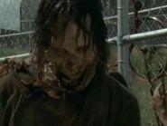 Walker outside the fence