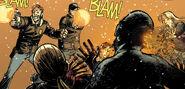 Issue 5 Deluxe - Shane shoots Zombie Reggie