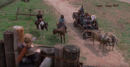 Michonne arrives at Hilltop
