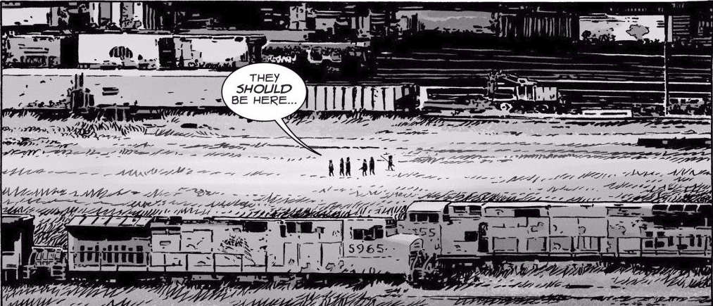 Train Yard (Comic Series)