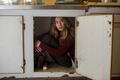 FTWD Captive Alicia in Cabinet
