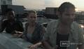 Survivors on roof