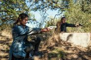 FTWD 6x16 Sherry and Dwight