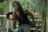 10x01 Michonne and Judith