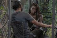 10x03 Michonne questions Siddiq