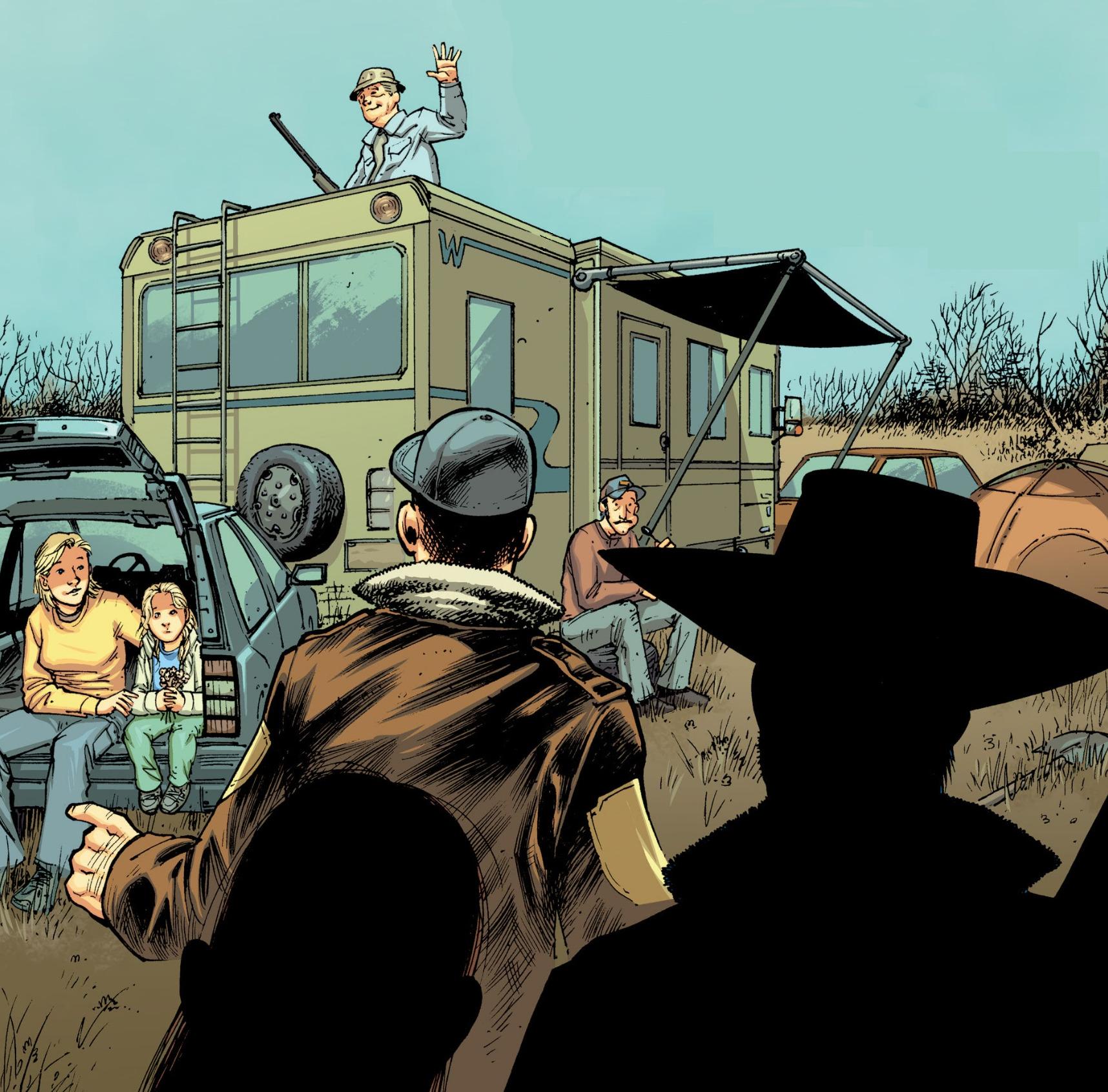Atlanta Survivor Camp Comic Series Walking Dead Wiki Fandom