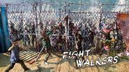 Fight walkers TWDS