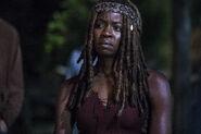 9x01 Michonne thinking