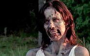 Lori as a zombie