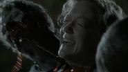 Walker eating the jugular veins