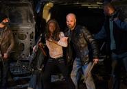AMC 616 Saviors Bringing Michonne