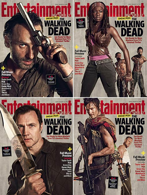 Axel TWD/Entertainment Weekly News