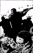 Husband death (Here's Negan)