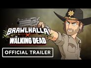 Brawlhalla & The Walking Dead Crossover - Official Trailer