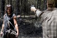 AMC 606 Dwight Threatens Daryl