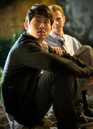 Steven yeun pictures glenn the asia guy on the walking dead picture photo images