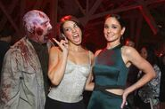 Cohan and Callies Zombie Scare