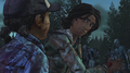 AmTR Sarita and Clem looking at each other