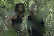 10x01 Michonne and Magna