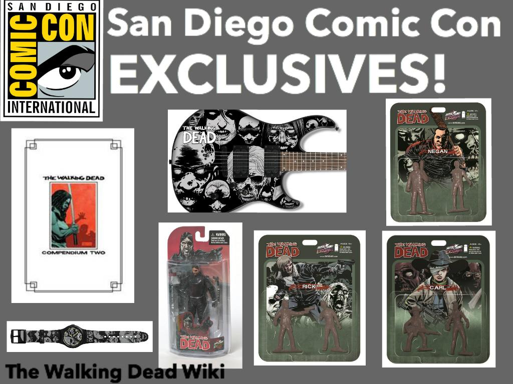 Axel TWD/San Diego Comic Con Exclusives
