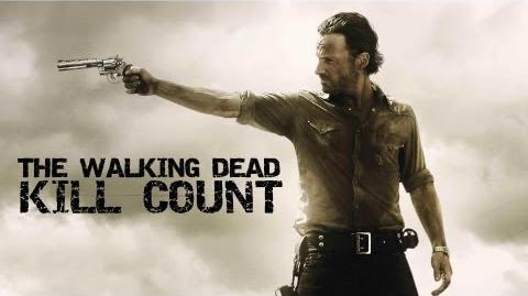 The Walking Dead - Walker Zombie Kill Count Season 1 2