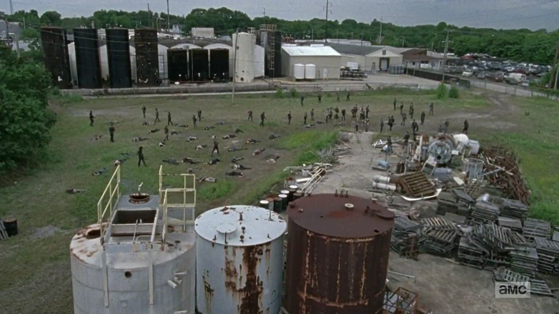 Chemical Plant Outpost (TV Series)