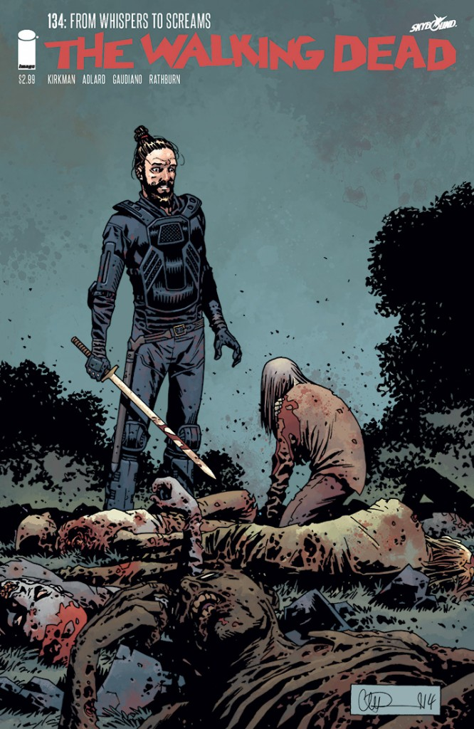 Axel TWD/New Covers - Issue 134, Volume 22, and Omnibus 5