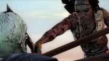 The Walking Dead Michonne - Episode 1 - 'In Too Deep' Launch Trailer