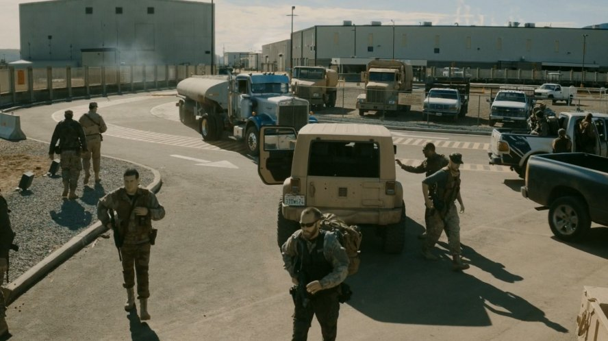 Military Fuel Depot