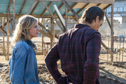 FTWD 4x03 Nick and Madison