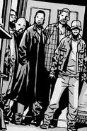 Group of men and Glenn