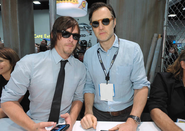 Reedus and Morrissey SDCC 13