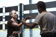 Carol and grenade