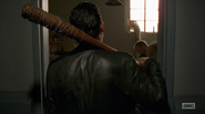 HAC Negan watching Dwight being beaten