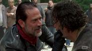 Rick and Negan S7E1