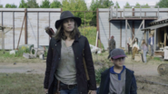 Maggie and Hershel in Alexandria (Home Sweet Home)