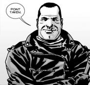 Issue 107 Negan Happy