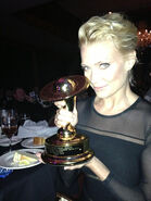 Laurie Holden wins Saturn