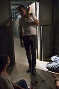 Negan and Sasha Williams 7x15 Something They Need