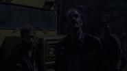 Simon, Dwight, and the Saviors S8E13