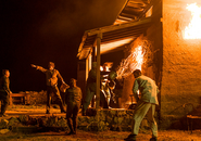 AMC FTWD Burning in Water, Drowning in Flame