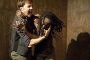 Michonne vs Philip