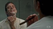 Negan Shaving His Beard S7E8