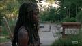 5x09 Michonne Overwhelmed