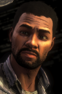 BT Lee looking at Clem