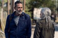 10x22 Negan and Carol